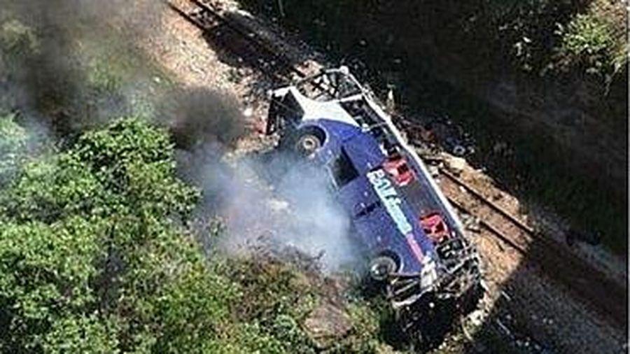 Brazil: Tai nạn xe buýt khiến ít nhất 40 người thương vong