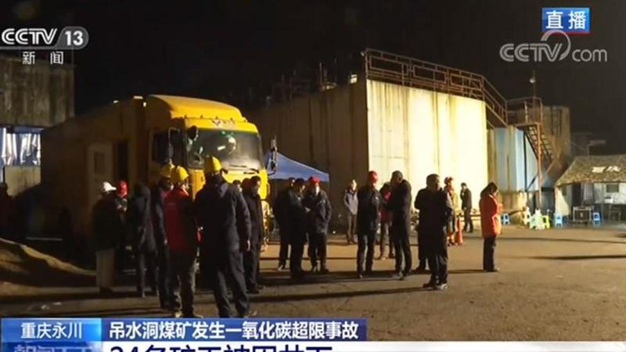 Trung Quốc: 18 thợ mỏ chết thảm vì ngộ độc khí CO2