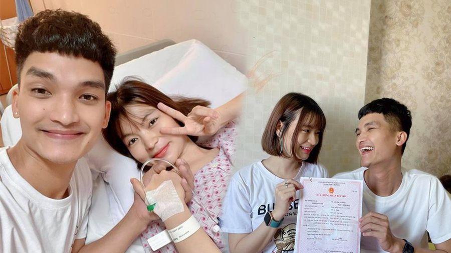 Dàn sao Việt chúc mừng vợ chồng Mạc Văn Khoa đón con gái đầu lòng