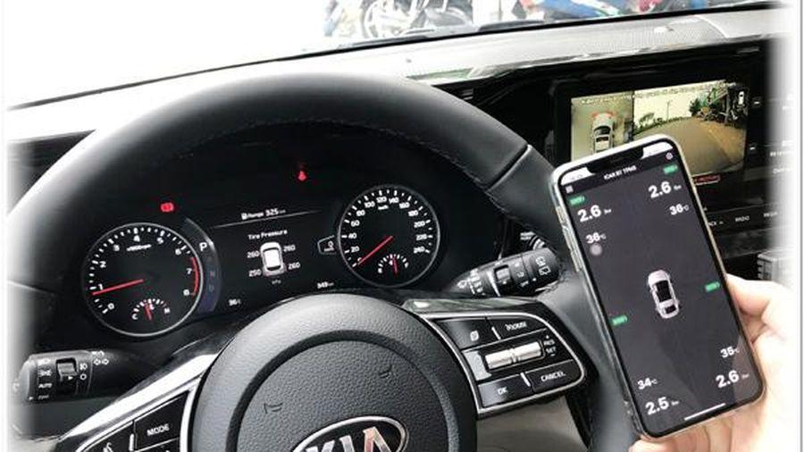 Cảm biến cảnh cáo áp suất lốp xe hơi Icar Ellisafe i3