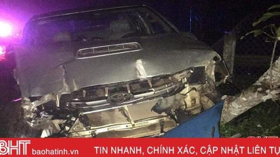 Lái xe bán tải đến trình diện sau 2 vụ tai nạn liên tiếp ở huyện miền núi Hà Tĩnh