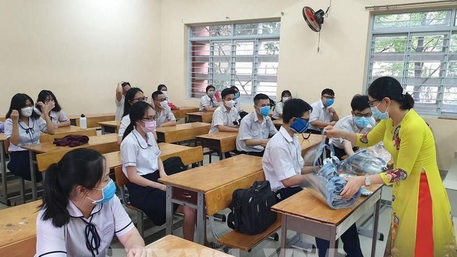 Năm biện pháp ứng phó của nhà trường khi có ca nghi nhiễm COVID-19