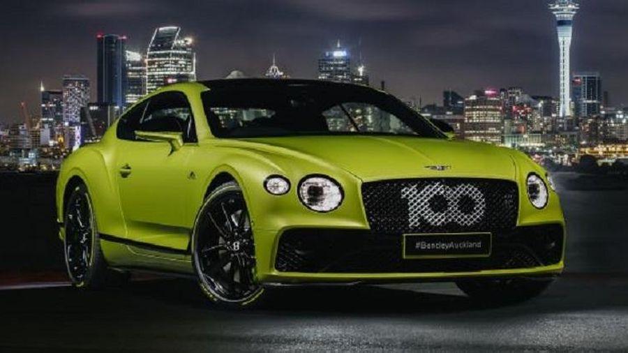 Bentley Continental GT 2021 phiên bản đặc biệt chỉ sản xuất giới hạn 15 chiếc trên toàn thế giới