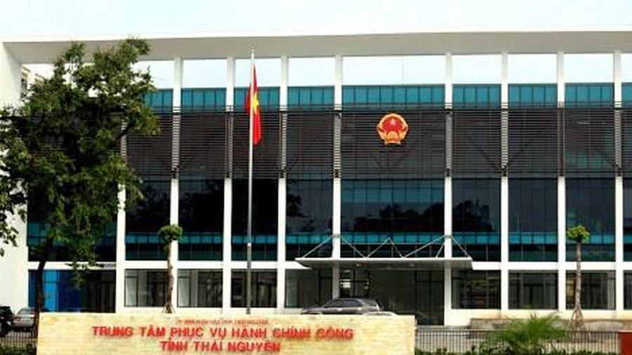 Trung tâm phục vụ hành chính công Thái Nguyên chính thức đi vào hoạt động