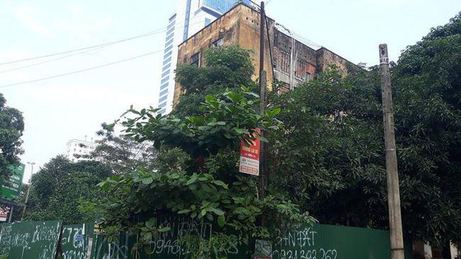 Nghệ An: 'Hỏa tốc' di dời dân khỏi chung cư Quang Trung