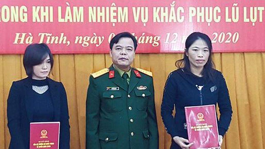 Tuyển dụng quân nhân chuyên nghiệp đối với vợ các liệt sĩ của Đoàn Kinh tế - Quốc phòng 337
