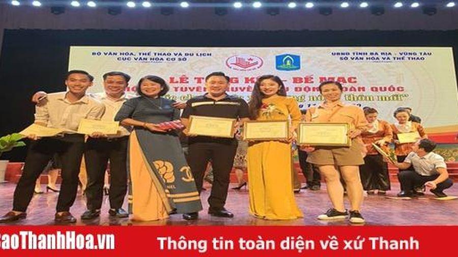 Thanh Hóa giành 3 HCV, 2 HCB tại Hội thi tuyên truyền lưu động toàn quốc 'Cả nước chung sức xây dựng nông thôn mới'