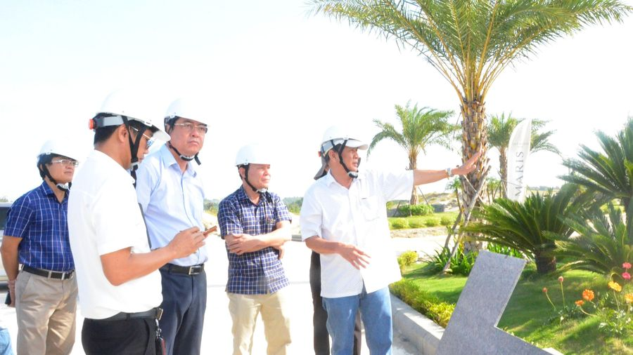 Lãnh đạo TP. Vũng Tàu khảo sát Dự án KDL Vũng Tàu Regency