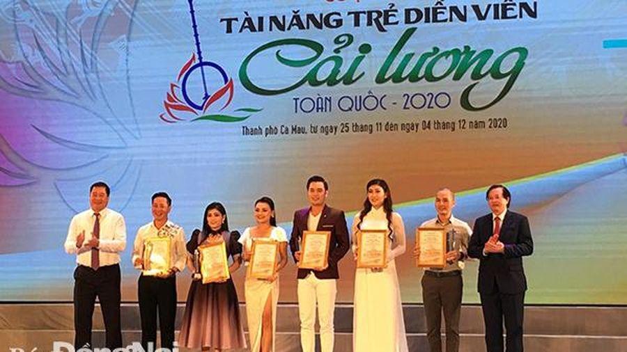 Đồng Nai đoạt 2 huy chương Tài năng trẻ cải lương toàn quốc 2020