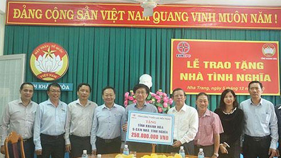 Tổng Công ty Điện lực miền Trung ủng hộ 250 triệu đồng xây nhà tình nghĩa