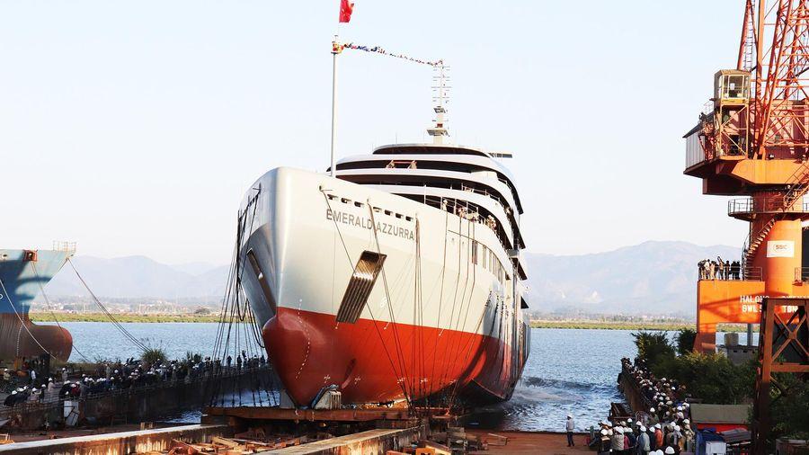 Hạ thủy thành công tàu du lịch theo đơn đặt hàng đến từ Australia
