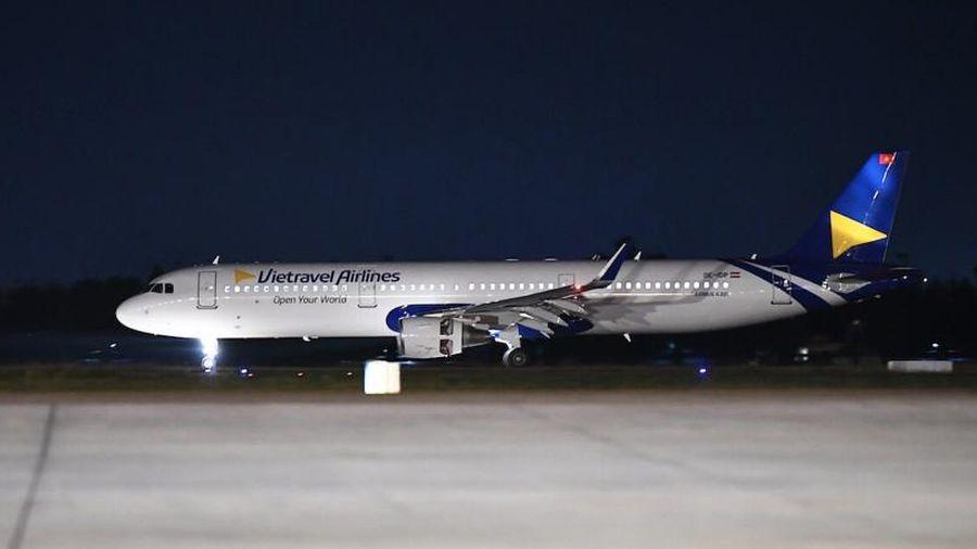 Lộ diện máy bay đầu tiên của Vietravel Airlines