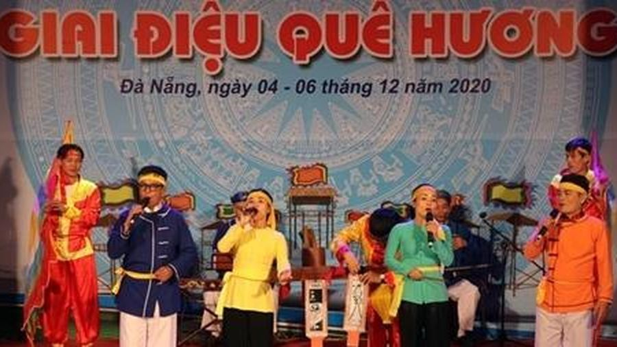 Liên hoan hát dân ca và hô hát Bài chòi Đà Nẵng mở rộng năm 2020