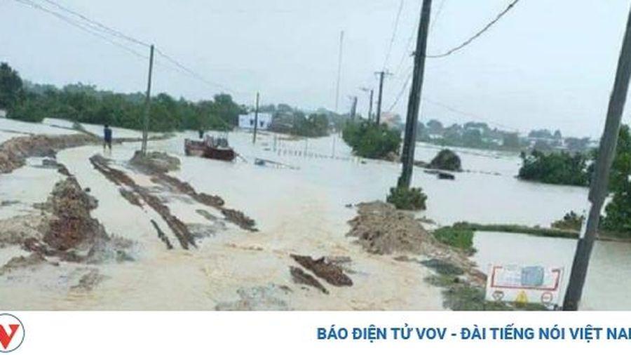Mưa lũ ở Ninh Thuận gây thiệt hại 51,3 tỷ đồng