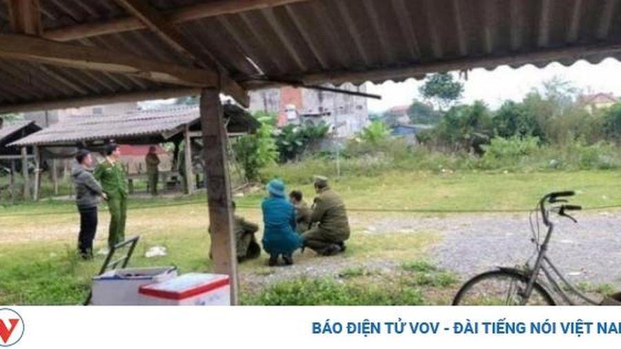 Bắt 5 nghi can chém chết người trong quán ăn đêm ở Thái Nguyên