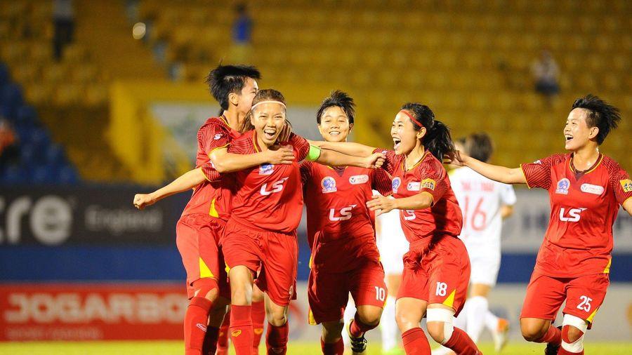 Giải bóng đá nữ VĐQG 2020: TP.HCM I tiến gần ngôi vô địch