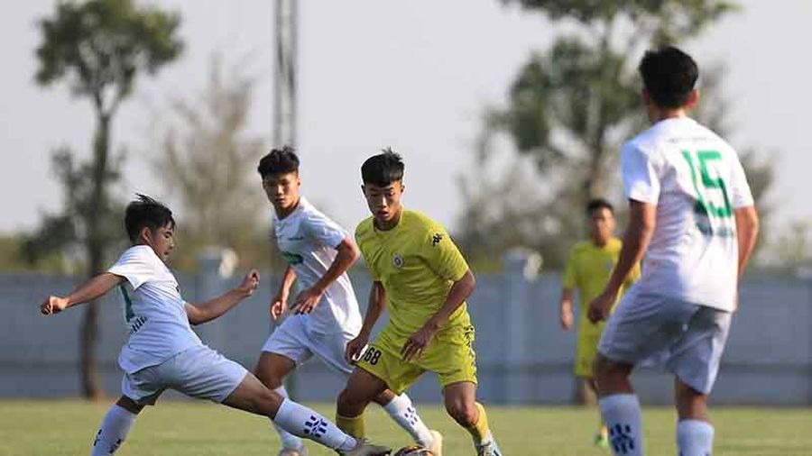 Xác định 4 đội vào bán kết U17 Cúp quốc gia 2020
