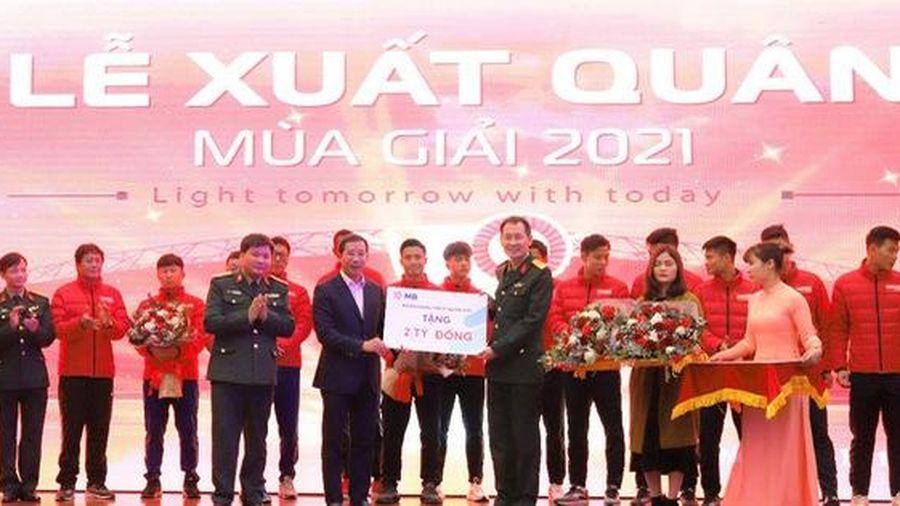 MB trao thưởng CLB bóng đá Viettel 2 tỷ đồng sau chức vô địch V.League 2020