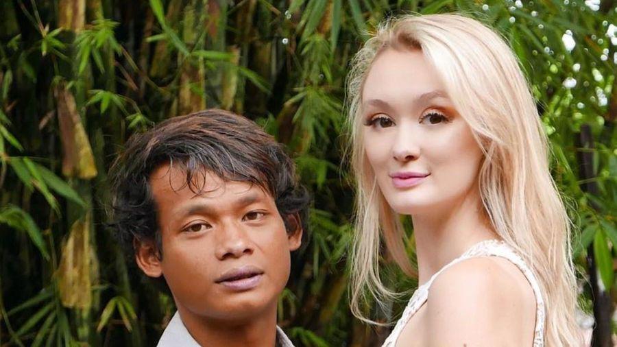 Đôi vợ chồng nổi tiếng vì khác biệt ngoại hình sắp có con đầu lòng