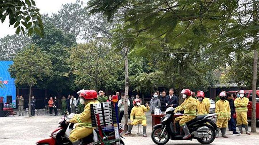 Hà Đông: Triển khai mô hình điểm 'Khu dân cư an toàn phòng cháy, chữa cháy'