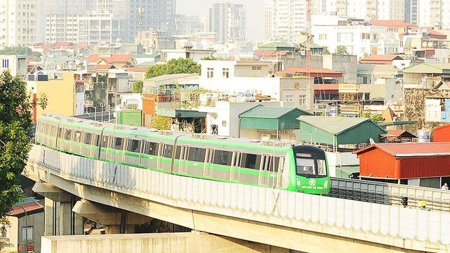 Đường sắt Cát Linh - Hà Đông sắp khai thác thương mại