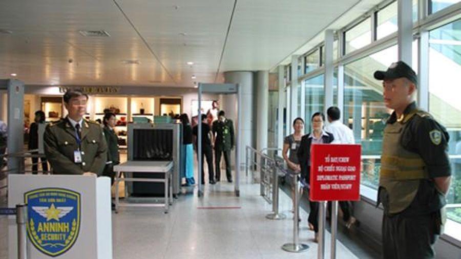 Kiểm soát an ninh cấp độ 1 tại các cảng hàng không, sân bay cả nước