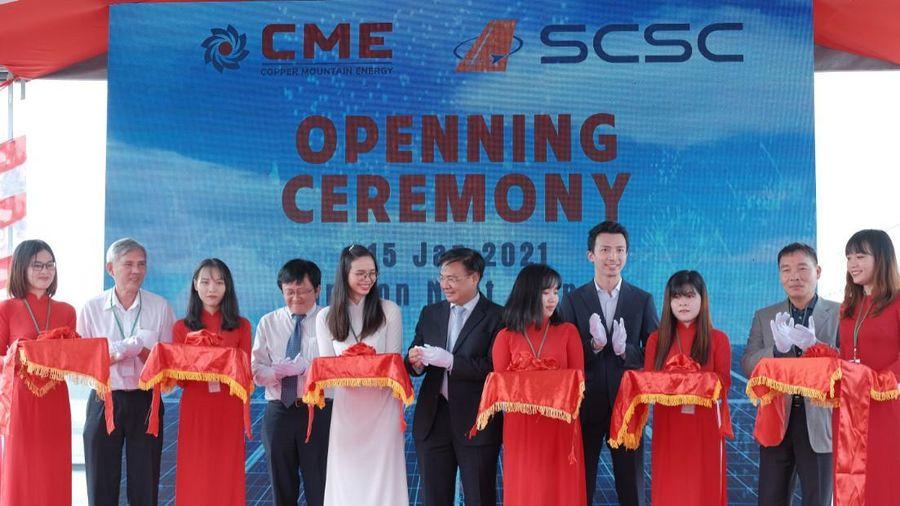 Khánh thành công trình điện mặt trời áp mái đầu tiên tại sân bay Tân Sơn Nhất