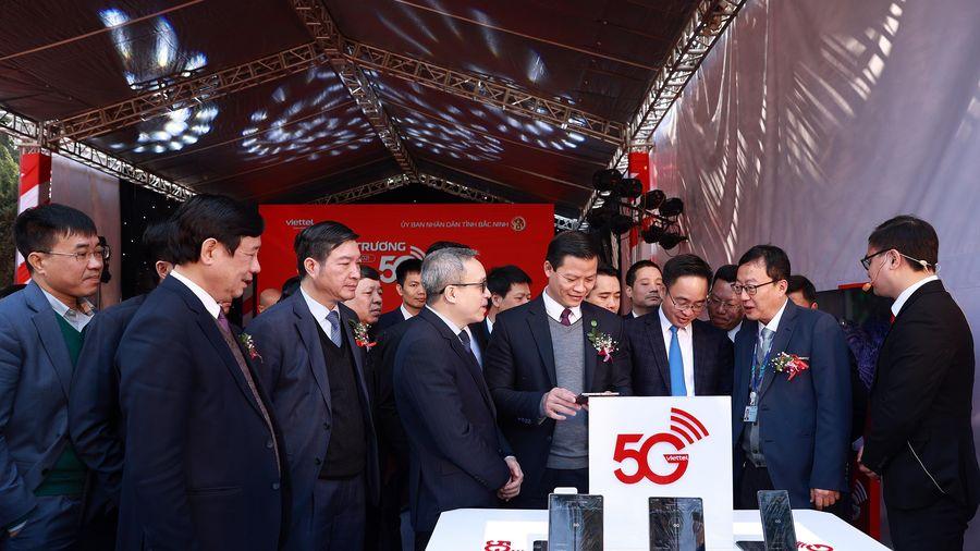 Yên Phong, Bắc Ninh trở thành khu công nghiệp đầu tiên có sóng 5G