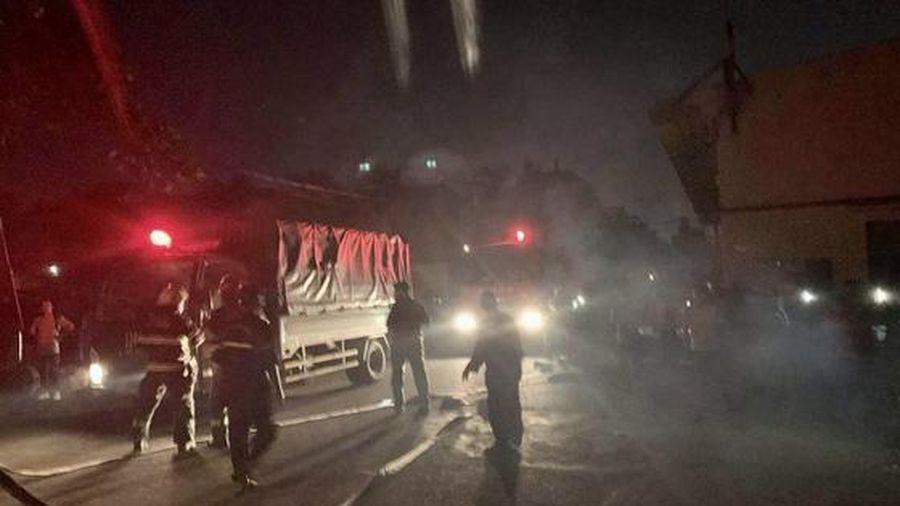 Cháy lớn ở công ty may mặc thuộc quận Bình Tân, TP Hồ Chí Minh