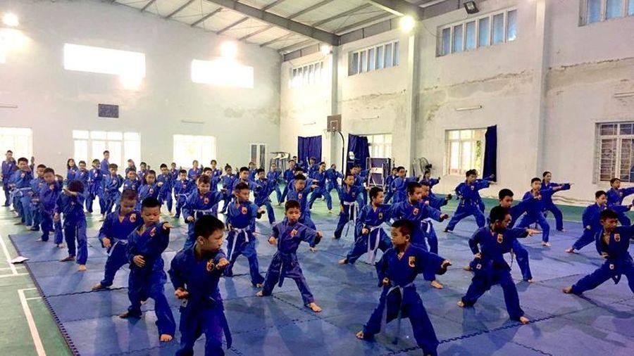 Bước phát triển vượt bậc của phong trào võ thuật TP Thanh Hóa