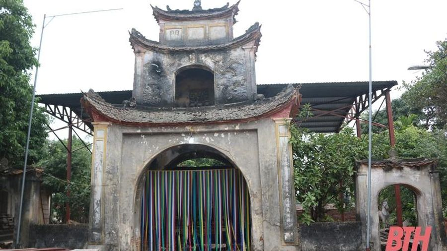 Hổ Bái - đền cổ gắn với ngôi làng nghìn năm tuổi