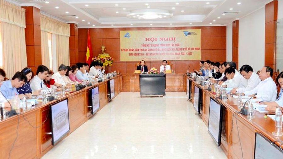An Giang tăng cường hợp tác, phát triển với Đại học Quốc gia TP.Hồ Chí Minh