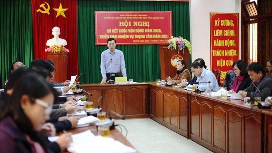 Sơ kết Cuộc vận động 'Người Việt Nam ưu tiên dùng hàng Việt Nam' năm 2020