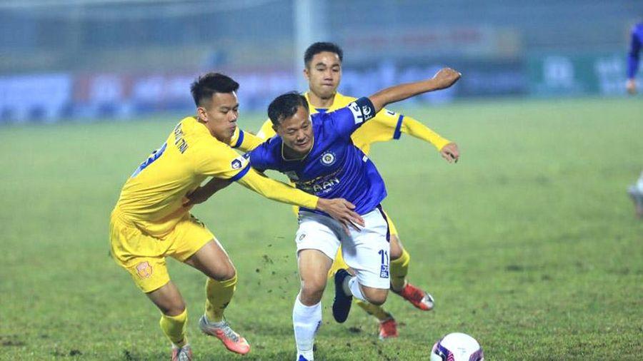Nam Định FC thắng thuyết phục Hà Nội FC trong ngày khai màn V.League 2021