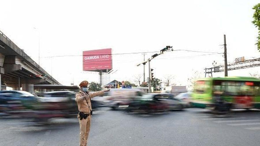 Phân luồng giao thông phục vụ Đại hội đại biểu toàn quốc lần thứ XIII của Đảng