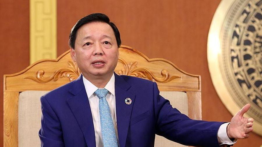 Bộ trưởng Trần Hồng Hà: Nhiều trăn trở tài nguyên, môi trường