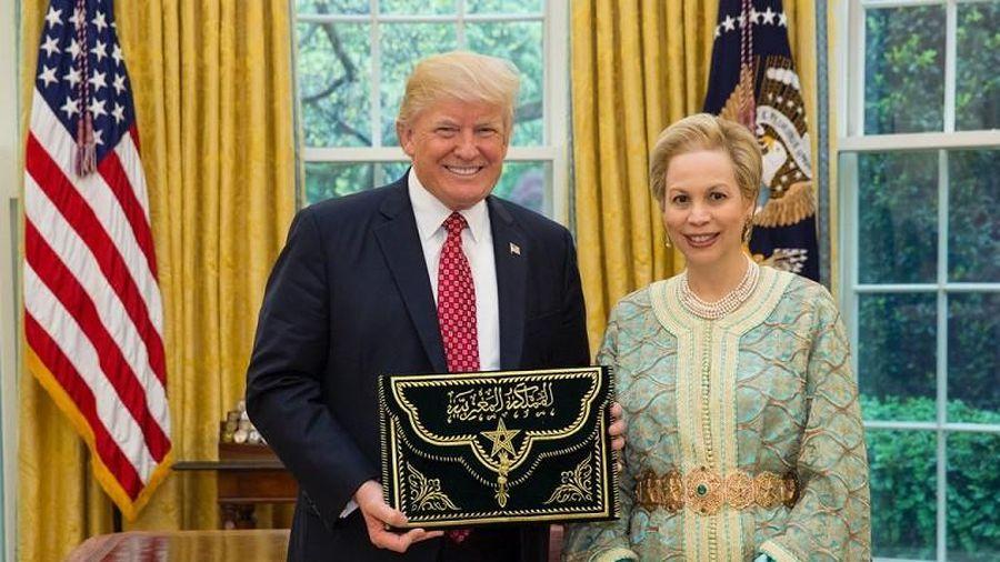 Ông Trump nhận huân chương cao quý nhất của Morocco