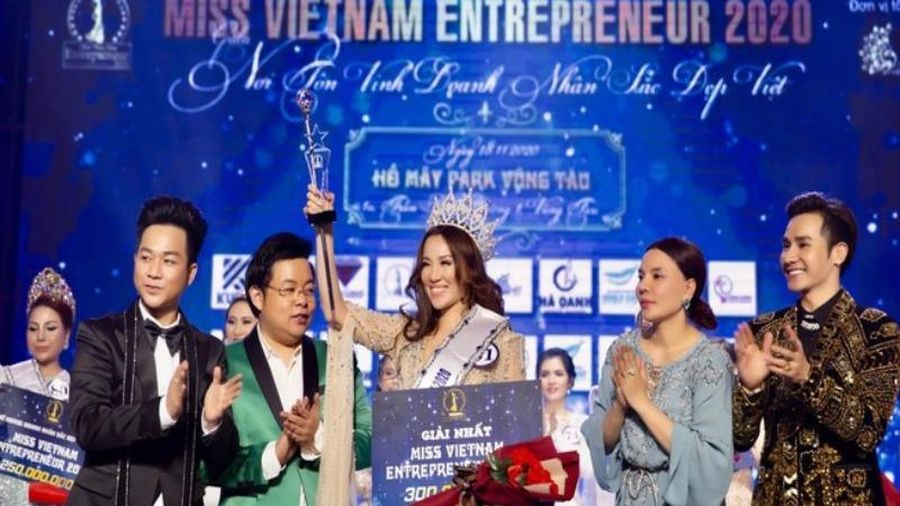 Vụ tổ chức thi chui Hoa hậu Doanh nhân: Phạt 90 triệu