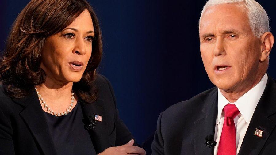 Phó tổng thống Pence lần đầu nói chuyện với bà Harris hậu bầu cử