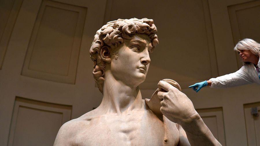 Tư tưởng táo bạo về con người trong tượng 'David'