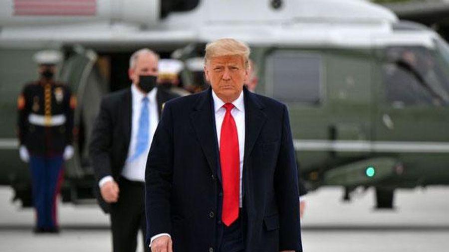 Hé lộ thời điểm Tổng thống Trump dự kiến rời Washington