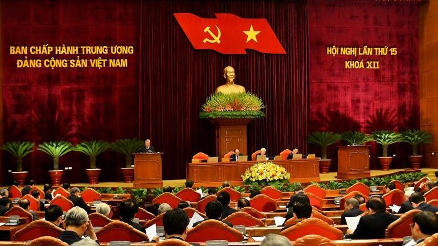 Khai mạc trọng thể Hội nghị lần thứ 15 Ban Chấp hành T.Ư Đảng khóa XII