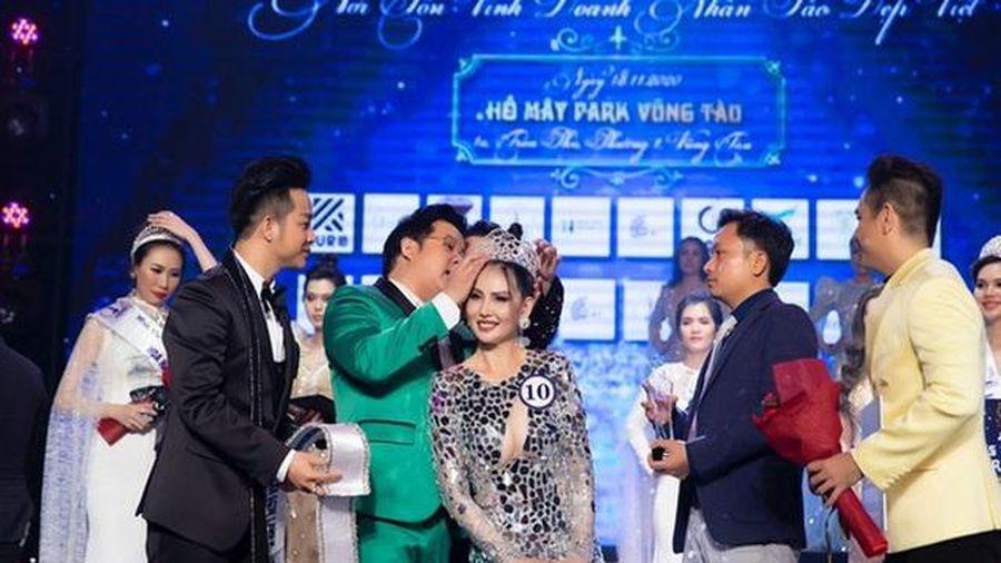 Xử phạt Ban tổ chức cuộc thi Hoa hậu Doanh nhân