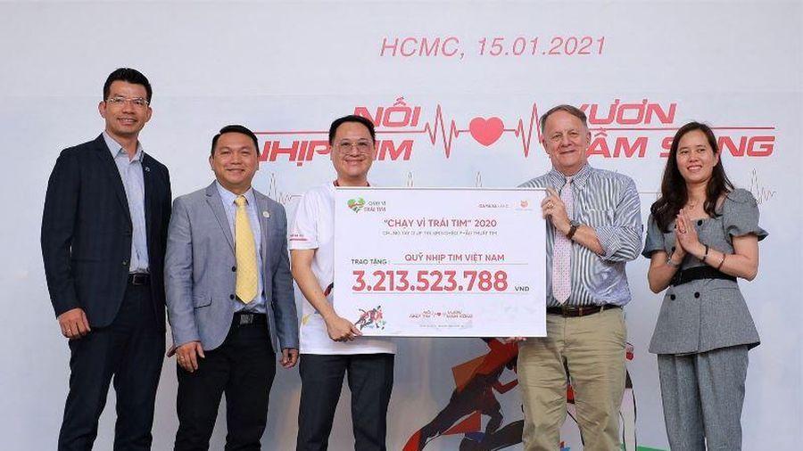 Hơn ba tỷ đồng quyên góp từ chương trình 'Chạy vì trái tim' 2020