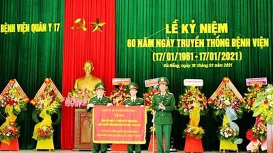Bệnh viện Quân y 17 tổ chức Lễ kỷ niệm 60 năm Ngày truyền thống
