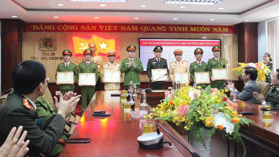 Bộ CA khen thưởng các tập thể, cá nhân cứu nạn tại Thủy điện Rào Trăng 3
