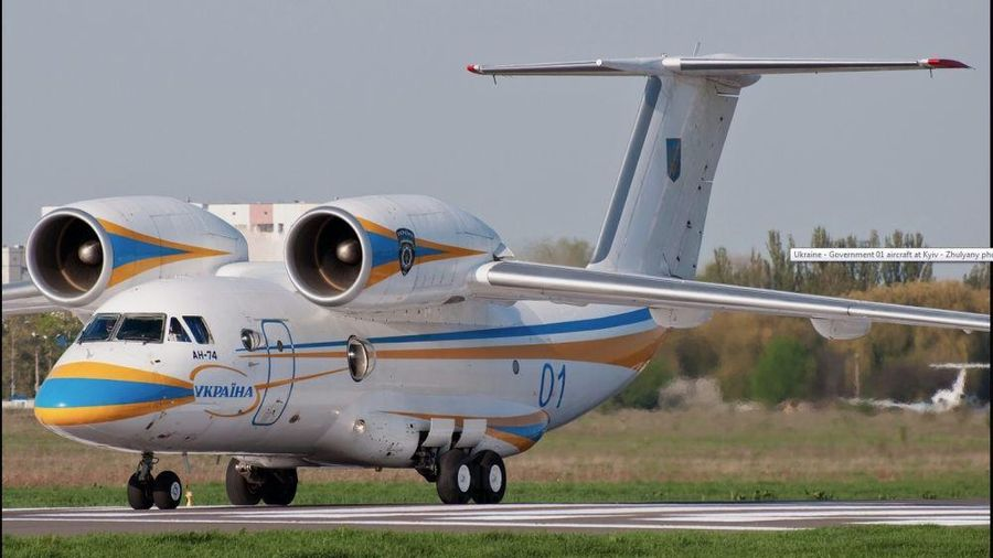 Ukraine có thể sẽ sản xuất máy bay vận tải hạng quân sự nhẹ Antonov-74
