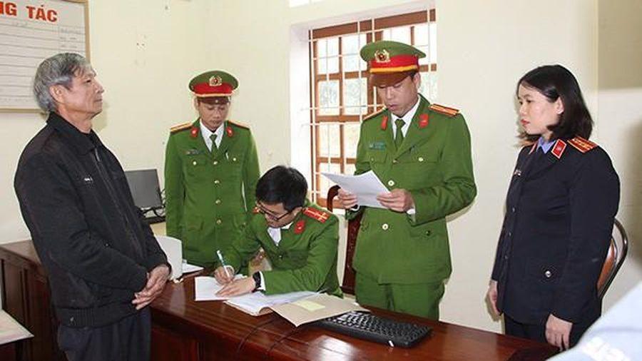 Lập khống hồ sơ lấy tiền hỗ trợ thiên tai, 2 cựu chủ tịch xã bị khởi tố