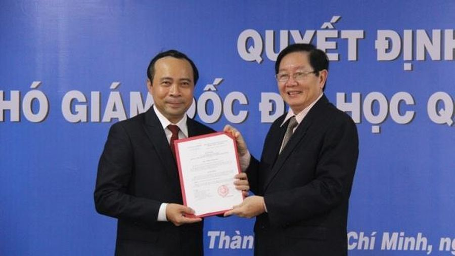 Đại học Quốc gia Thành phố Hồ Chí Minh có tân Giám đốc