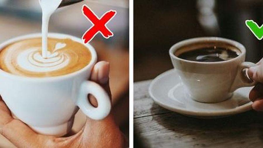 Một ngày uống tối đa bao nhiêu tách cà phê là đủ?